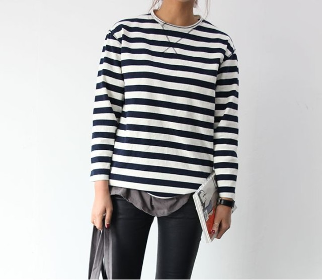 weekend-layers-tee-striped-tee-skinnies-black-skinnies-via-katiearmour.tumblr.com
