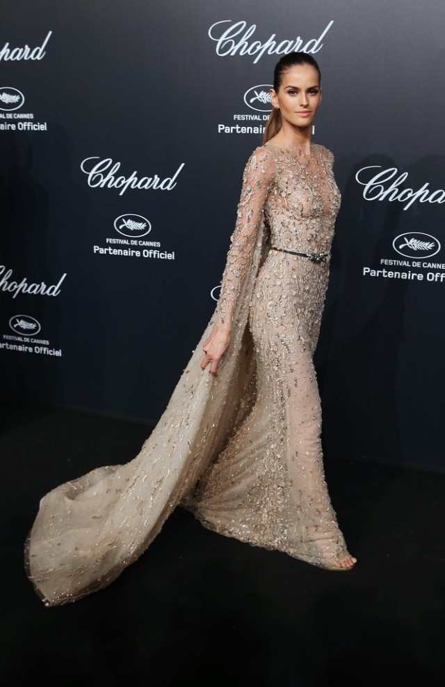Izabel-Goulart, cannes, evening gown, black tie, special occasions, red carpet style