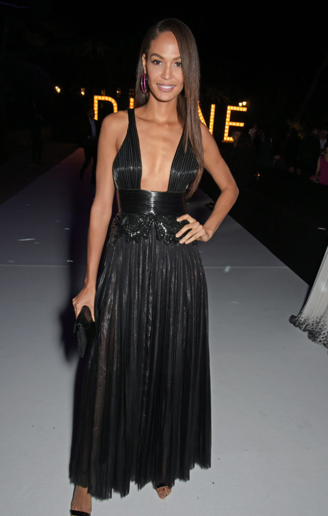 Joan-Smalls, cannes, evening gown, black tie, special occasions, red carpet style
