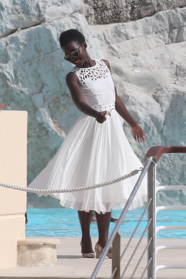 Lupita-Nyongo, cannes 2015, celeb style, sundress, summer, occasions, events, parties