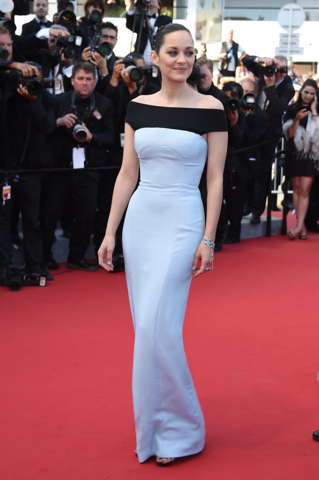 Marion-Cotillard, cannes, evening gown, black tie, special occasions, red carpet style