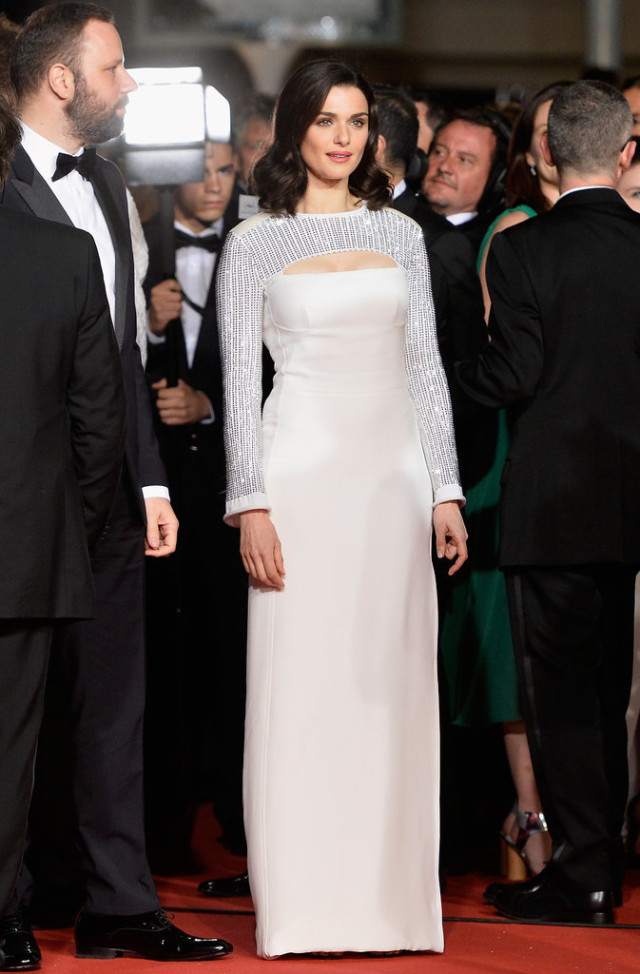 Rachel-Weisz, cannes film festival, red carpet, celeb style, gowns, evening gowns, black tie, celeb style