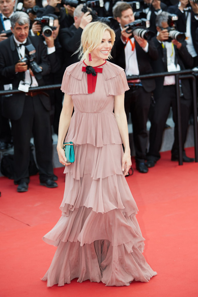 Sienna-Miller-, cannes, evening gown, black tie, special occasions, red carpet style