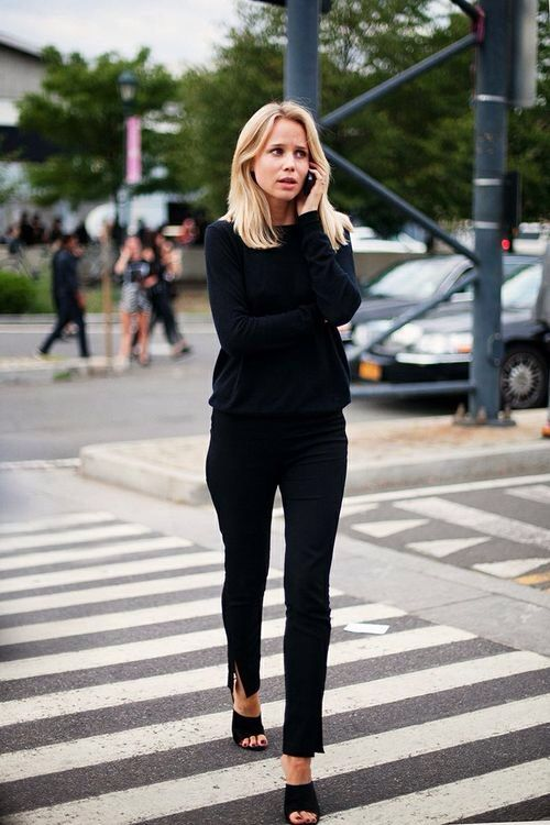 all black, elin kling, mules