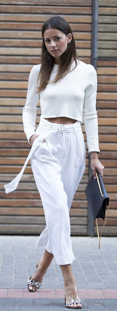 all-white-culottes-crop-top-ankle-pants-white-pants-mules-clear-shoes-work-date-night-going-out-via
