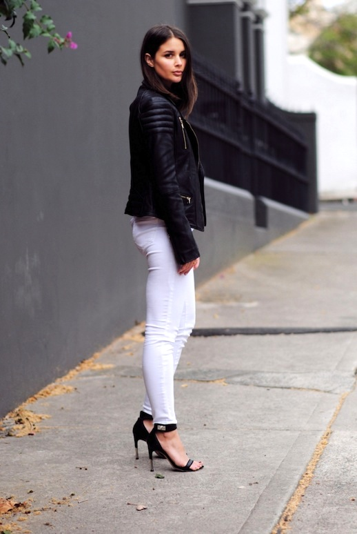 black-moto-jacket-white-jeans-spring-going-out-night-out-weekends-date-night-via-harper&harley
