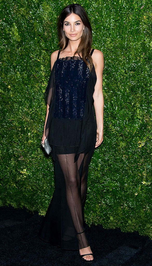 black-sequined-sheer-skirt-cocktail-dress-black-tie-wedding-special-occasions-party-going-out-evening-alessandra-ambrosio-via-www