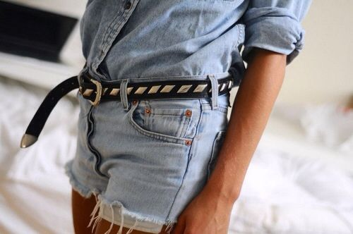 cutoffs-denim-on-denim-belt-via-theyallhateus.com