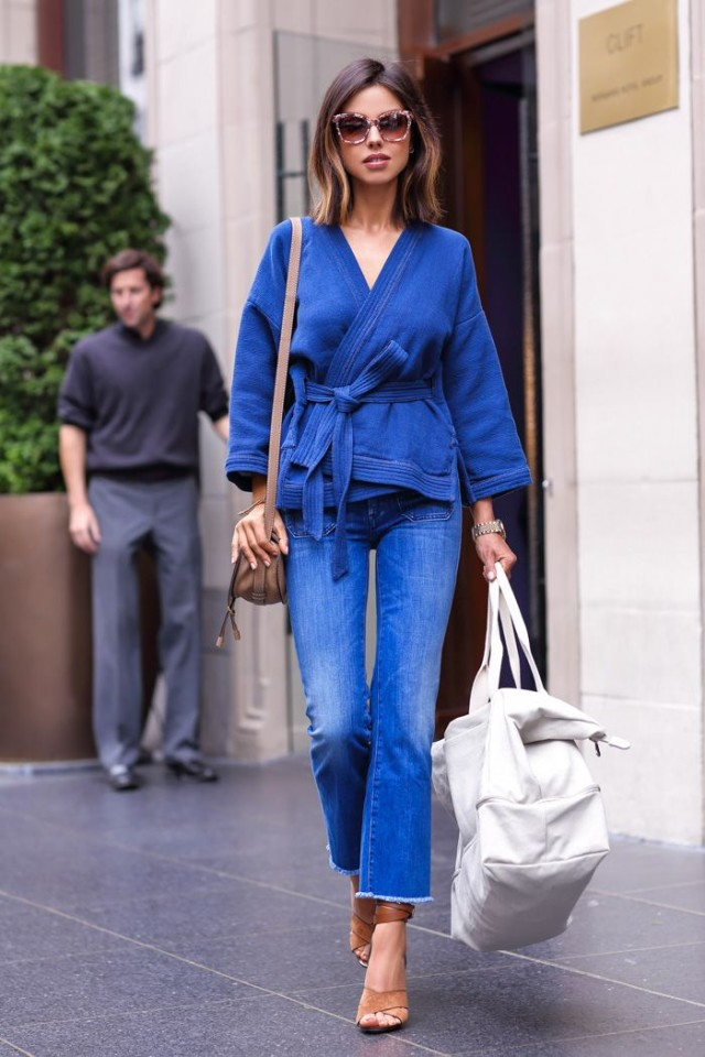 denim-flares-karate-belt-wrap-jacket-double-denim-via-bedazelive.com