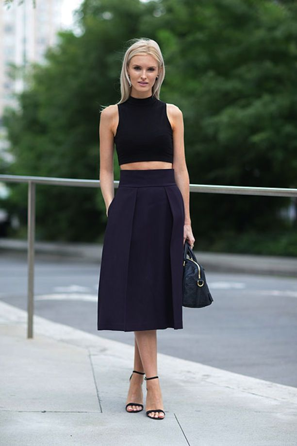 kate-davidson-crop-top-midi-skirt-navy-and-black-spring-fall-work-via-www