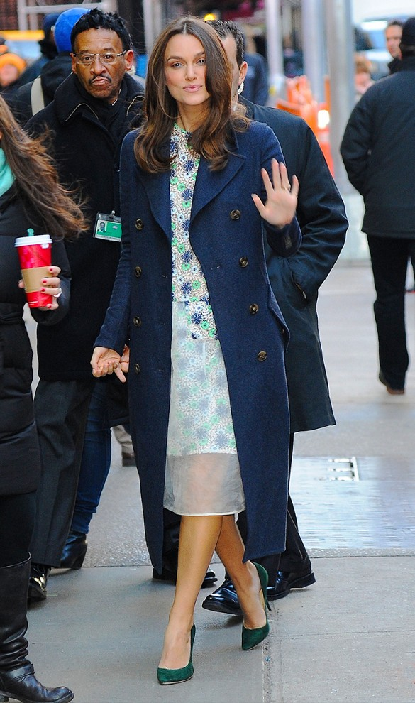 keira-knightley-work-outfits-navy-coat-spring-brunch-shower-via-www