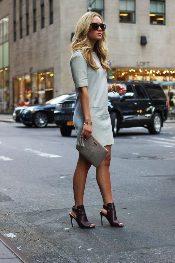 slingback-mules-grey-shift-clutch-work-giong-out-night-out-giginewyork-via-stylecusp..com