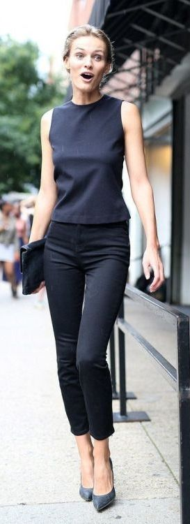 spring-work-all-black-classic-going-out-night-out-elle