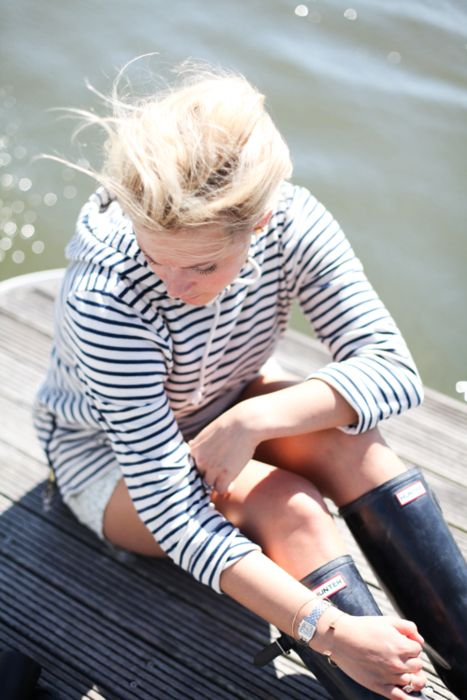 striped-tee-wellies-lake-via-blog.sarawhite.com