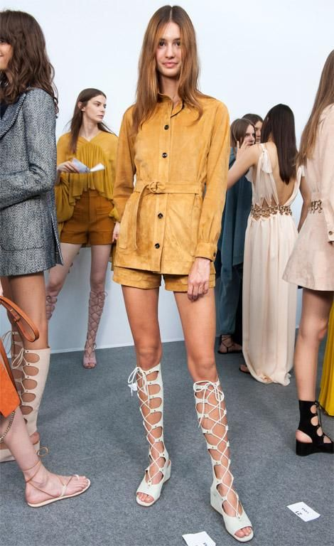 suede-jacket-shorts-belted-jacket-safari-chic-tall-gladiator-sandals-via-instyle.com