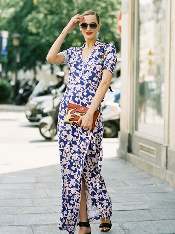 summer-style-going-out-night-out-wedding-summer-wedding-outfit-work-maxi-dress-sandals-wrap-dress-printed-dress-floral-print-long-dress-sandals-via-vanessa jackman