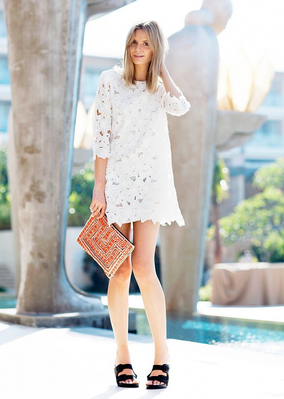white-lace-dress-black-birks-sandals-going-out-night-out-summer-lace-via-tuula vintage