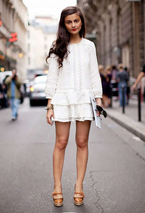 white-wrap-dress-summer-sundress-espadrilles-wedges-via-stockholm street style