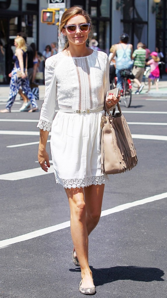 white-wrap-dress-summer-sundress-white-lace-boho-dress-snakeskin-ballet-flats-olivia-palermo-fringe-bag-summer-dress-clear-sunglasses-via-www