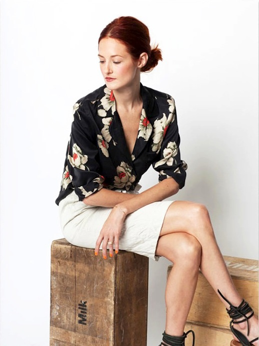 work-spring-summer-white-pencil-skirt-jacquard-sandals-lace-up-sandals-gladiators-floral-top-pajama-top-via-garancedore