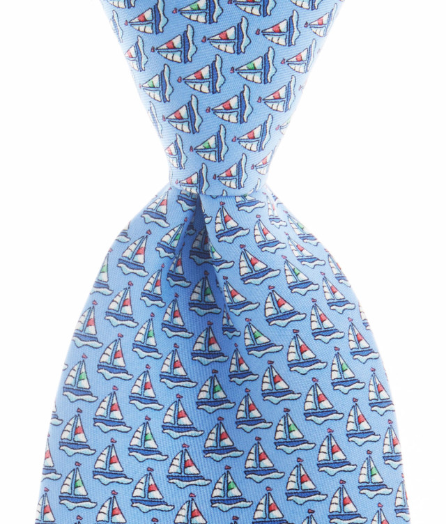 Regatta Tie, $85, vineyardvines.com