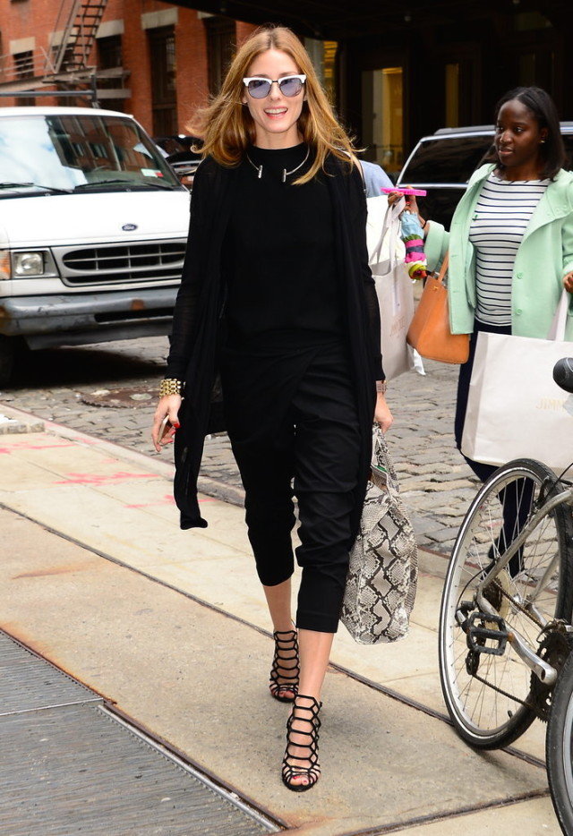 Olivia-Palermo-Wearing-Summer-Black