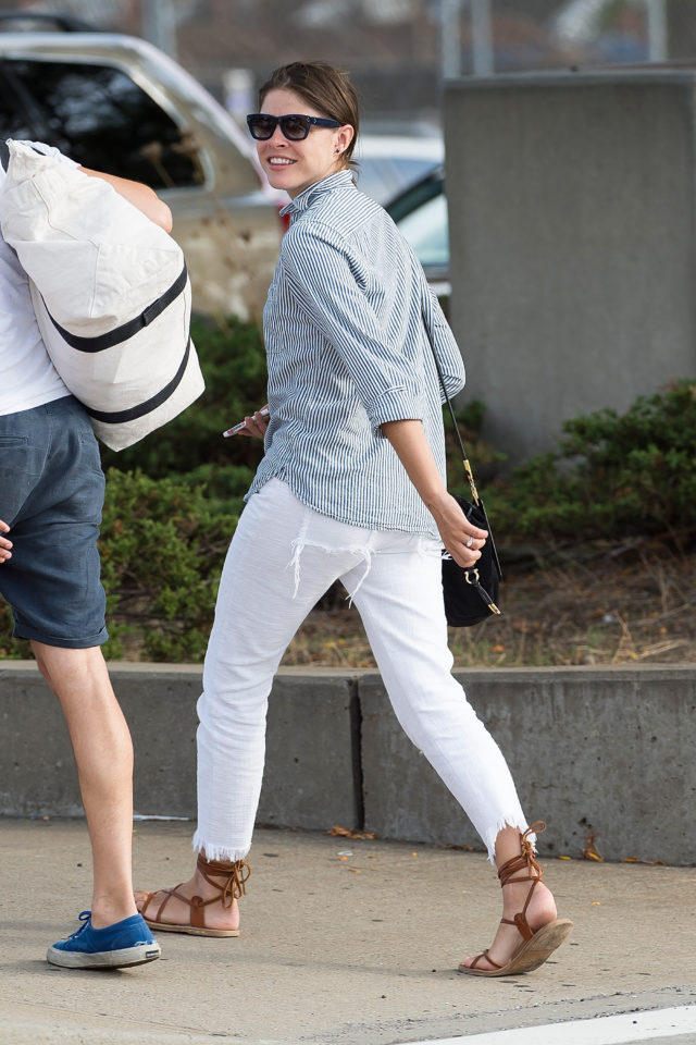 emily weiss white jeans