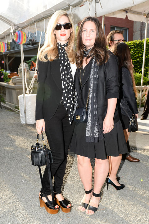 stella mccartney pre-fall presentation, joanna-hillman-nicole-fritton, summer style