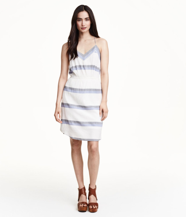 hm crinkled dress, 34.95, hm.com