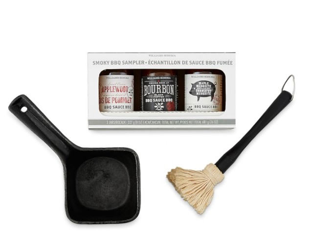 Outdoor BBQ Sauce Gift Set, $49.95, williams-sonoma.com