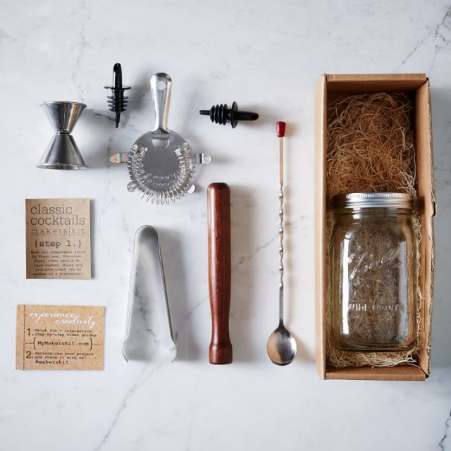 MakersKit Classic Cocktail Kit, $36, westelm.com