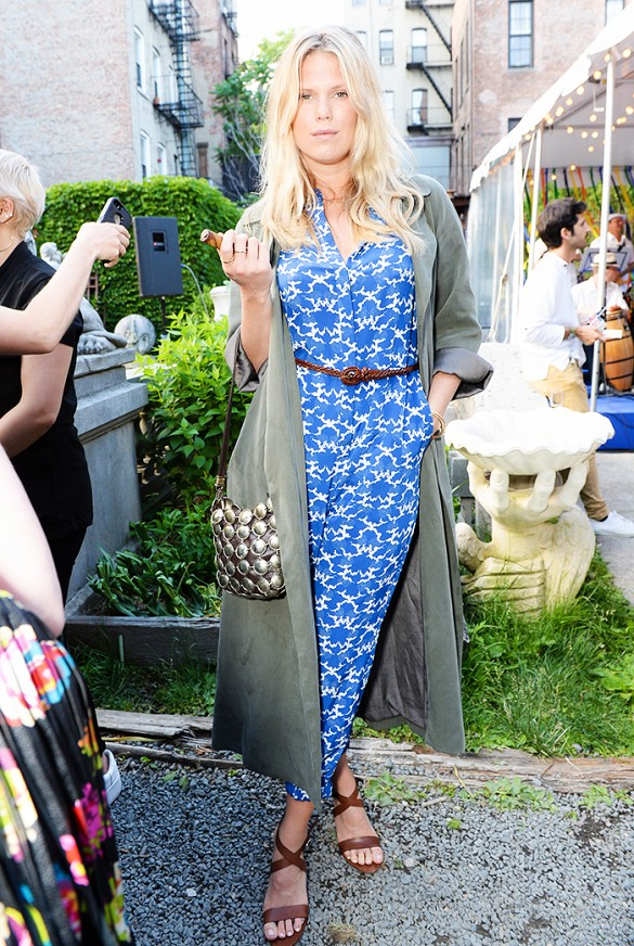 alexandra richards, printed dress, maxi dress, belted, duster coat, sandals, summer outfits