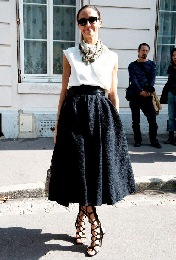 midi-skirt-scarf-statement-necklace-work-summer-outfit-via-whowhatwear
