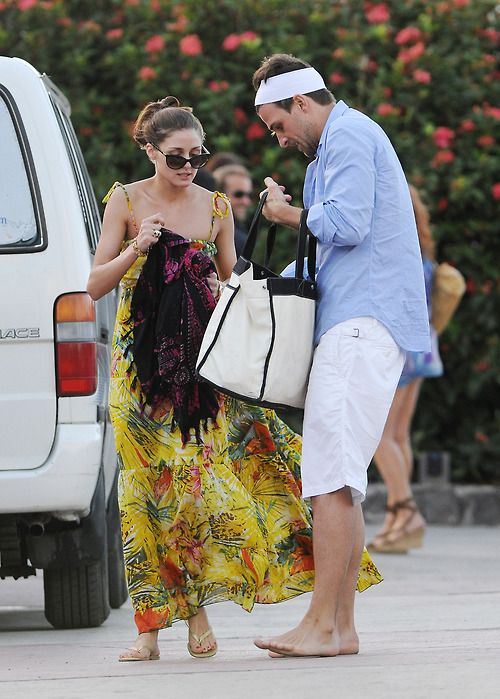 Olivia Palermo Beach Cover Up Jetsetter Vacation Summer