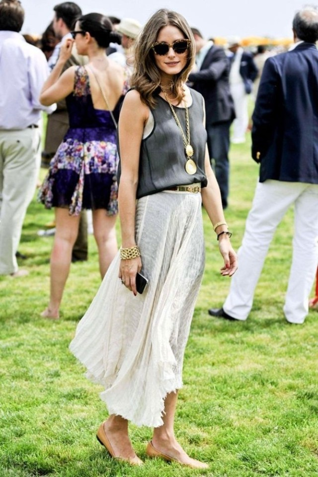 olivia-palermo-polo-maxi-skirt-pendant-necklaces-tanks-via-glamorumagazine.co.k