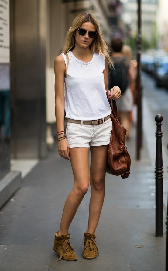 summer-outfit-cutoff-white-shorts-white-tank-sneakers-summer-weekend-vacation-via-blog.necessaryclothing.com