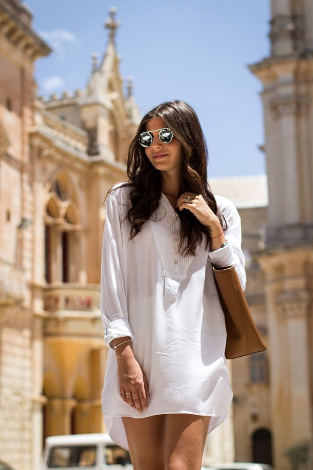 summer-vacation-white-shirt-dress-cover-up-sightseeing-via-justthedesign.com