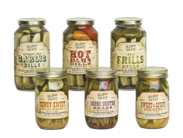 Yee-Haw Pickle Company Sample Pack, $65, domino.com https://domino.com/birthday-gifts-for-men
