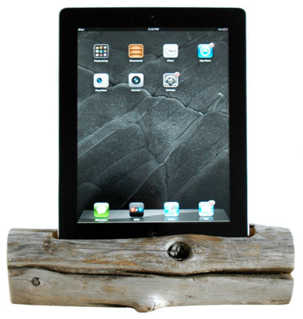 Dockwood Driftwood Dock - Tablet iPad, $96, domino.com
