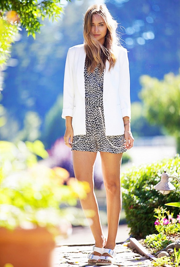 white-blazer-printed-romper-summer-date-outfit-going-out-night-out-via-late afternoon-birks