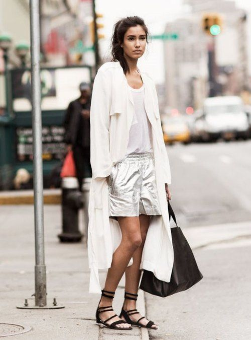 white-duster-coat-gladiator-sandals-metallic-shorts-black-tote-summer-outfits-work-date-night-night-out-urban-via-style-inspo.tumblr.com