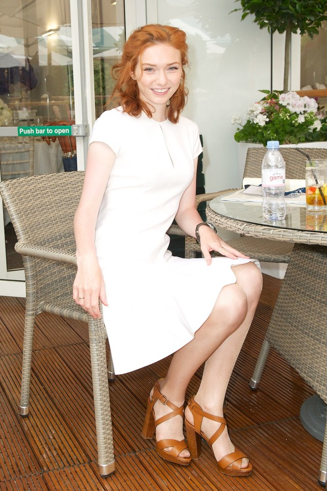 Eleanor-Tomlinson-white-dress-lwd-summer-bbq-outfit-sandals-ralph-lauren-classic-summer-outfit-wimbledon-fashion-via-getty