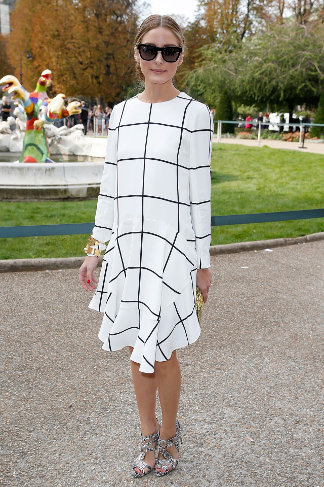 what to wear to a spring shower, olivia palermo