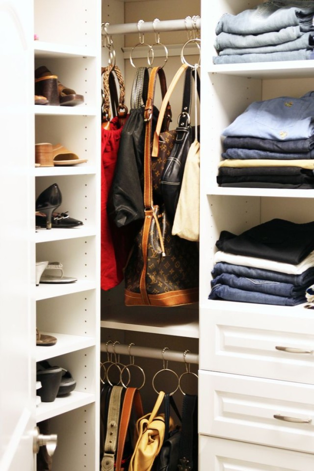 Genial Closetful Of Clothes