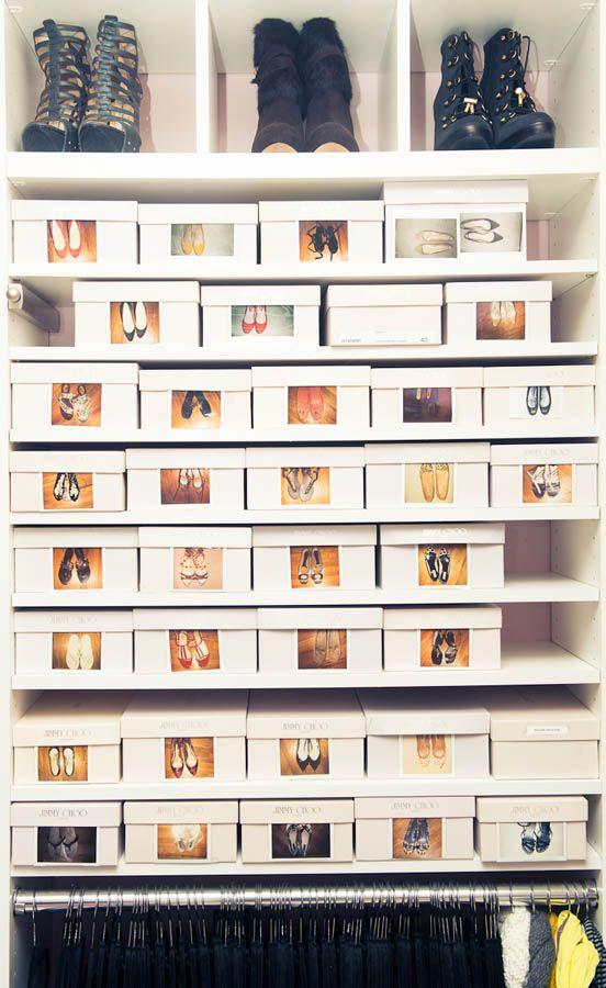 Closet Shoes Via Thecoveteur.com