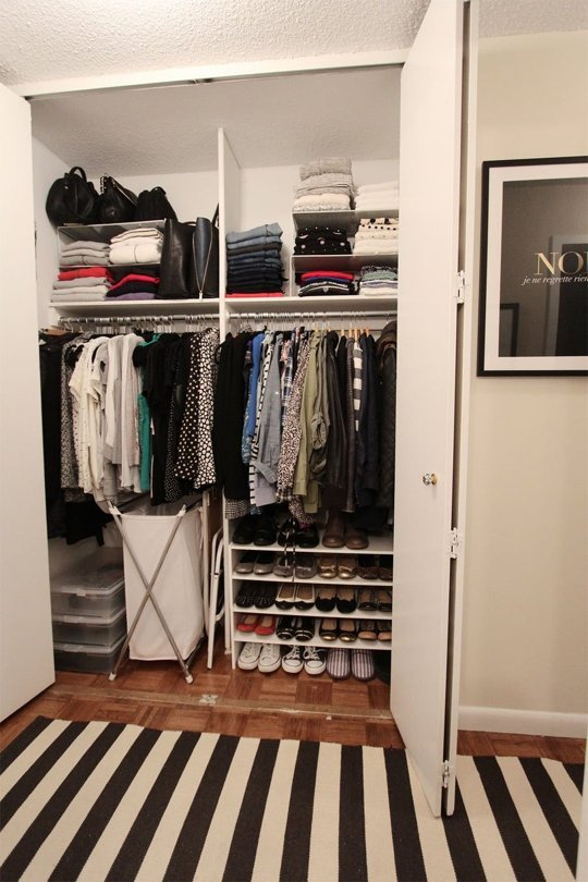 Closet Organizing Ideas 25 genius ideas for organizing your closet – closetful of clothes