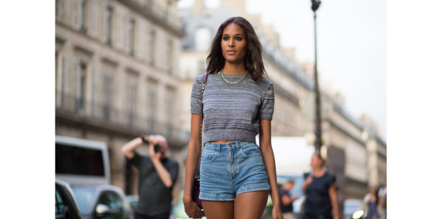 crop-top-denim-shorts-cutoffs-paris-couture-fashion-week-via-hbz
