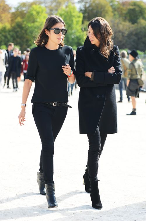 french-style-all-black-black-skinnies-pea-coat-booties-sweater-via-edotirals-and-co.tumblr.com-