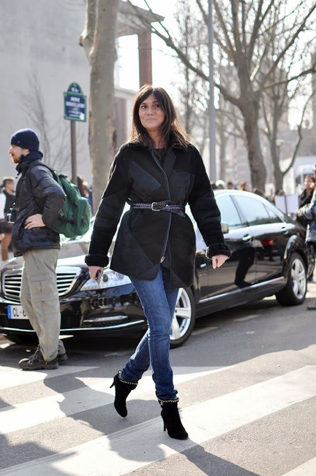 french-style-emmanuelle-alt-blakc-booties-quilted-jacket-belted-via-chiclikeherblogspot.ca