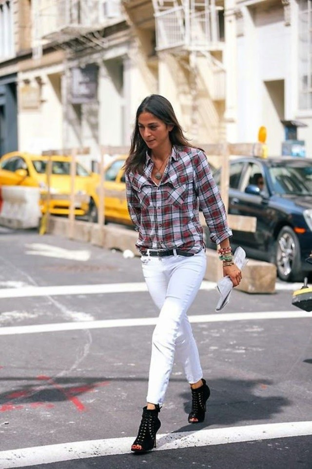 30  Ways to Wear White Jeans This Spring | Closetful of Clothes